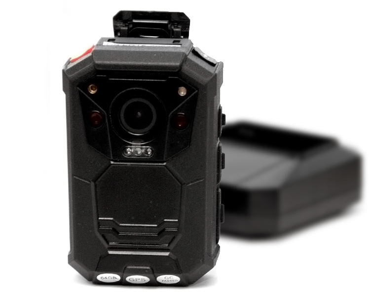 A7 Evidence Professional Body Camera - Front View