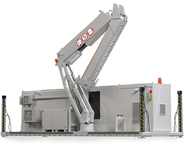 Adani DTP 5000LVR Vehicle Screening System