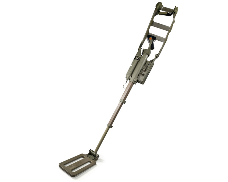 CEIA CMD Deep Ground Metal Detector - Front View