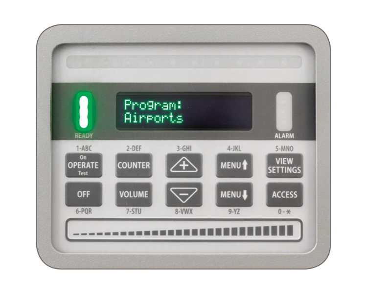 DETECT 6100 MZ Archway Metal Detector