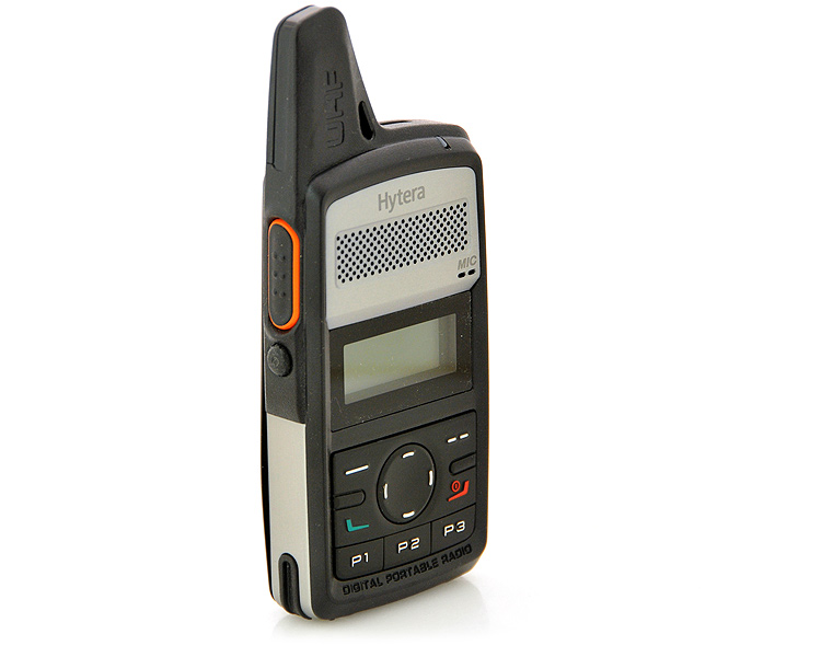 Hytera HYT PD36X Digital Management Radio - Side View