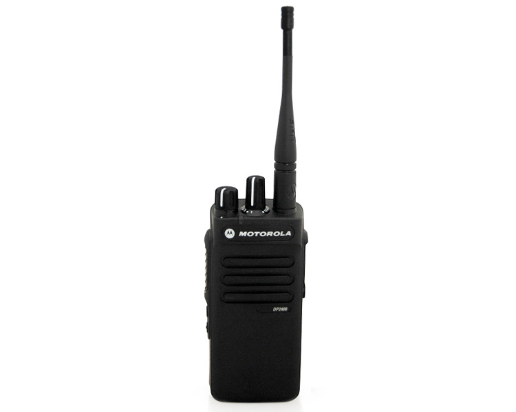 Motorola DP2000 Digital Mototrbo Radio - Front View