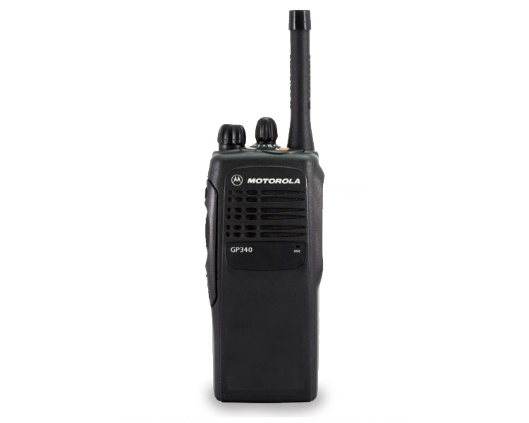 Motorola GP340 Two Way Radio - Front View