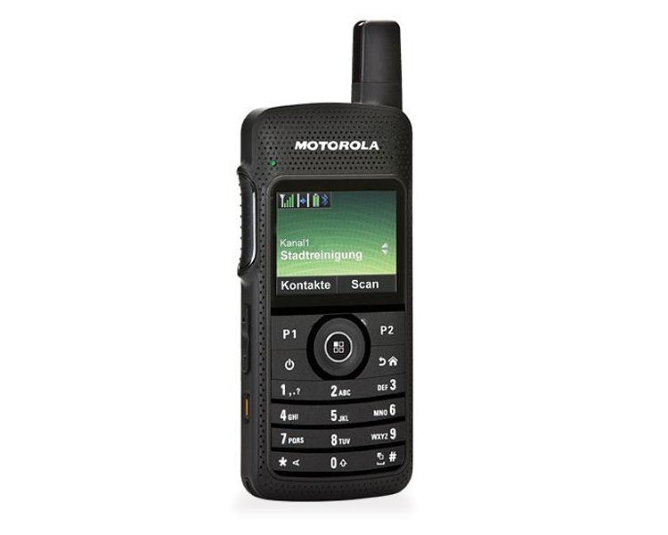 Motorola Mototrbo SL4000 - SideView